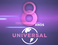 Universal Channel's 8th anniversary