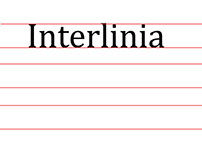Interlinia/Line spacing