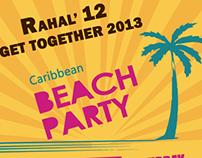 Rahal' 12 Beach Party 2013
