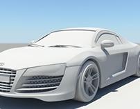 Audi R8 Model