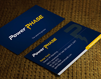 Business Card for Powerphase