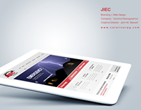 JIEC Website Design