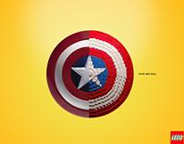 Campanha Lego - Capitão América