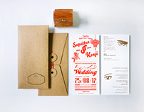 KENJI & TOMM WEDDING CARD