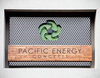 Pacific Energy Concepts Office Sign