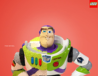 Campanha Lego - Buzz Lightyear