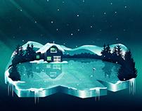 Frozen Magic | Digital Art