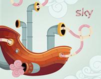 SKY GO   Illustration