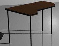 Cerry wood desk