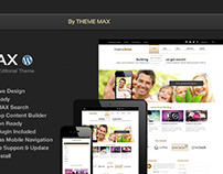 Xmax Responsive Wordpress Theme