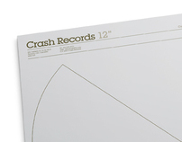 "Crash Records / Generic 12"" Sleeve[s]"