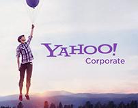 Yahoo! Corporate Redesign
