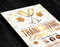 Thanksgiving | Flyers + Facebook Cover