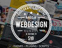 Flash Sale: Mega Web Design Bundle - Only $19