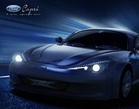 Ford Capri Concept Redesign (3D)