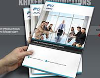 Brochure Design for AAM Consultancy