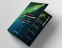 JFC Comedy Show Bi-fold Brochure
