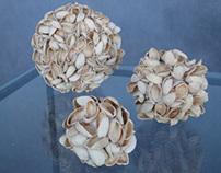 pistachio sculpture