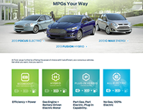 Ford.com Green Fuel Page