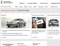 Lincoln.com Responsive Site