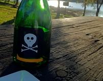 Garrafa Pirata   Pirate Bottle