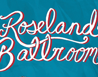 Roseland Ballroom Event Poster