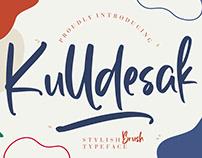 KULLDESAK STYLISH BRUSH - FREE FONT
