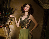 Glamour Fairy Tales- The Green Dress