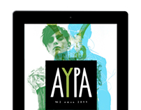 Aura magazine (idea & layout)