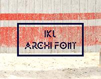 IKL Archi Font