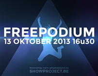 Flyer: Showproject Freepodium 2013
