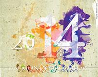 Calendario Colori 2014