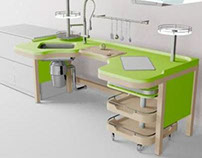 Kitchen for disabled