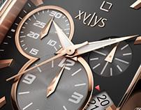 Xylys Watches, Titan.