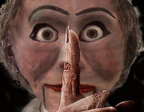 """Confection marionnette, pour """"Le Pantin de Faust"""""""