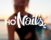 HO'Nails logotype