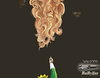 "Concept & Print Design - Babyliss - ""hair straightener"""