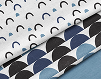 Modern Blue Patterns | Surface and Textile Design