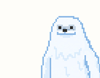 72 pixle collection : wendigo-bigfoot-yeti