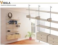 Estanteria modular VISSLA