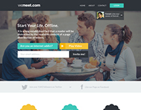 Landing Page for Wemeet
