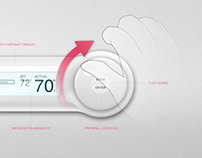 Thermostat User Interface Concept