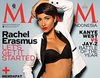 Maxim Indonesia Cover - August 2013