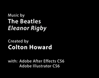 Eleanor Rigby - Kinetic Typography