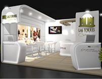 Diseño stand para Catering Las Torres
