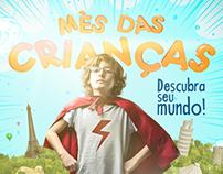Mês das Crianças Livraria Saramago