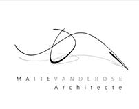 Maite Vanderose, Architect - Branding Design