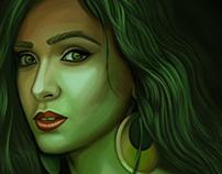 Digital Painting .. Hadeer