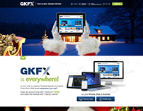 GKFX - interactive landing page