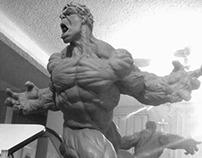 "1/4 ""Hulk"" maquette WIP"